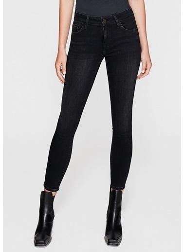 Mavi Jean Pantolon | Adriana Ankle - Super Skinny Siyah